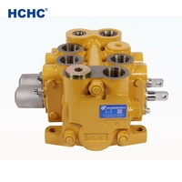 large flow high pressure hydraulic directional control valve CDBF20L for excavator and loader