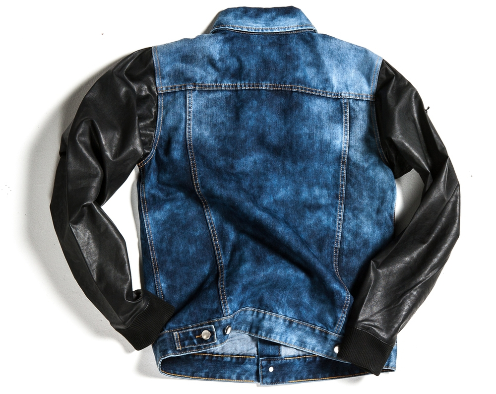 Find great deals on eBay for men denim jacket leather sleeves. Shop with confidence.