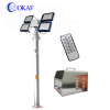Mobile Aluminium Alloy Telescopic Mast Illuminated Surveillance Communication Tower