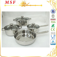MSF Korea Cookware 7pcs Stainless Steel Kitchenware Products MSF-3988-1