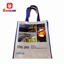 Popular top grade custom advertisement bags cloth bag