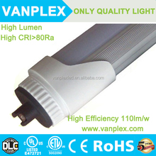 Factory direct sale SMD2835 UL cUL T8 LED Tube T8 36W 8ft 2.4m LED tube light