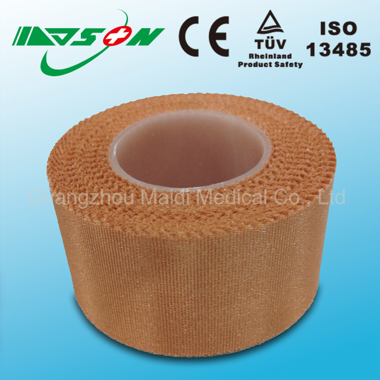 Medical self adhesive silk bandage and tape