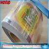 Heat seal plastic zipper bag with hang hole