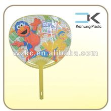 2015! two side sticker mexican hand fans