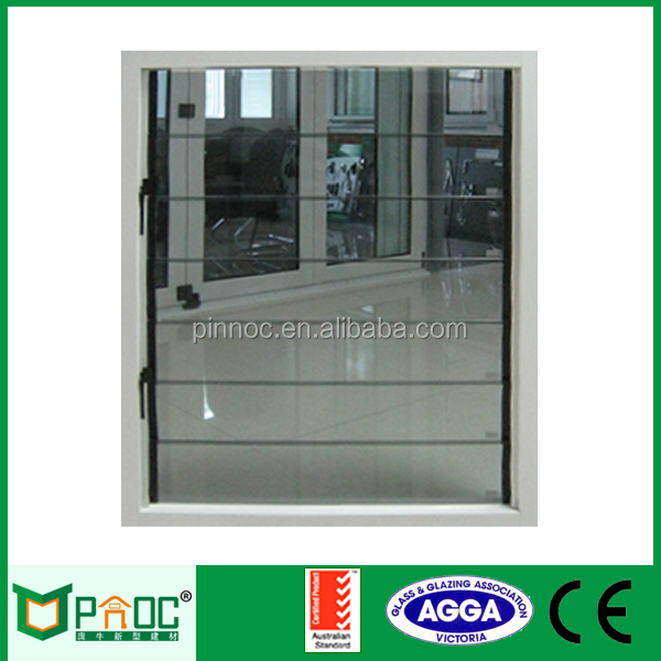 4mm 5mm 6mm Obscure glass louver window,glass louver door,opening glass louver with AS2047