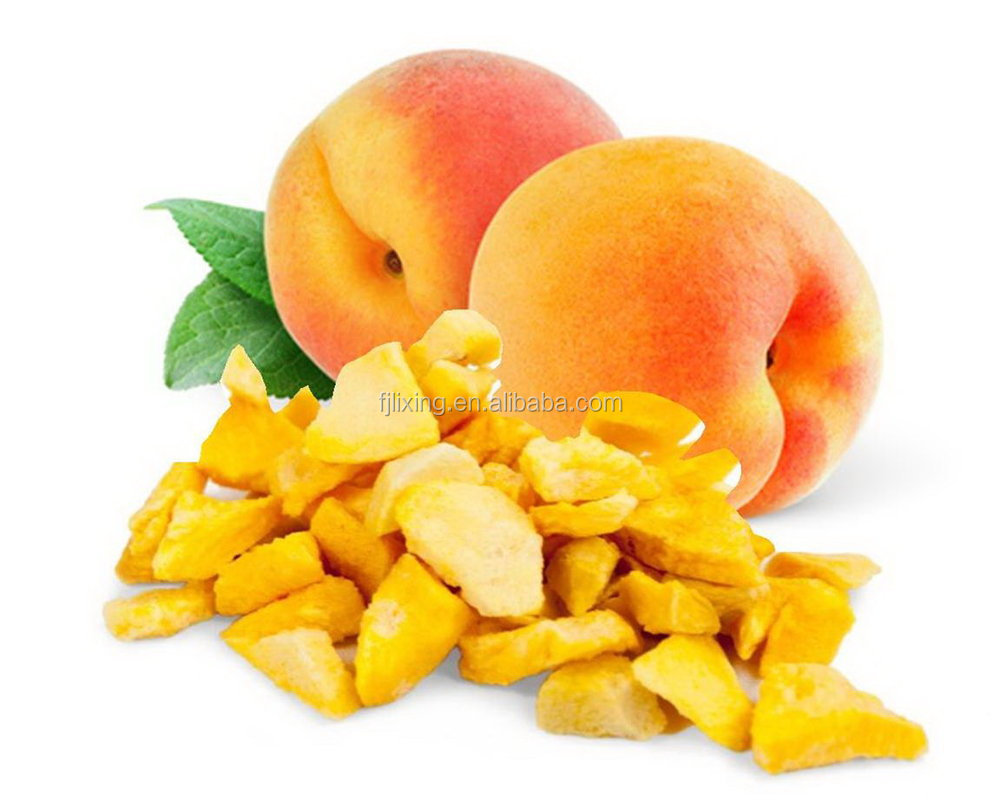 2015 DRIED FRUIT OFCHINESE FD FRUIT FREEZE DRIED YELLOW PEACH SLICE DICE POW