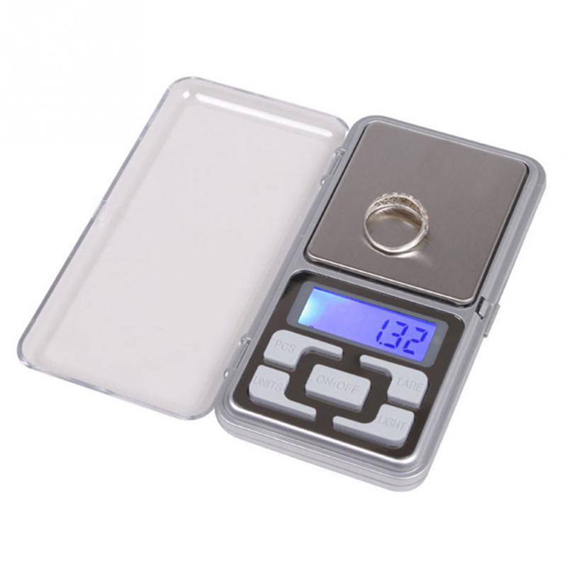 Mini Digital Scale 500g / 0.1g Precision LCD Display Electronic Digital Scale Kitchen Jewelry Weighing Balance Pocket Scale