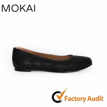 MK073-6 round toe genuine leather handmade leather latest shoes design
