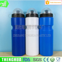 Push pull caps plastic sport water bottle with lids