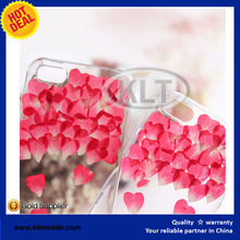 KLT- Handmade Real flower case Pressed Flower Phone Case rose case