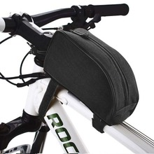 High Quality Waterproof Custom Bicycle Front Tube Frame Cycling Packages cycling bag