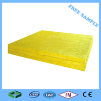 GANGFENG Class A 100mm Hydroponic Yellow Mineral Fiberglass Wool Insulation Sandwich Panel