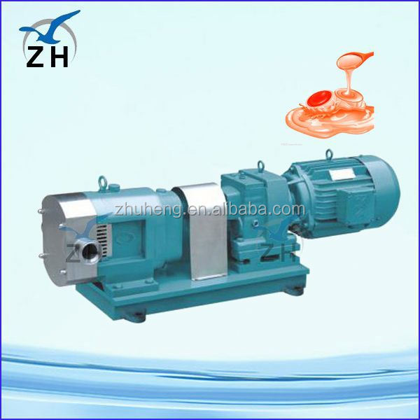Food process stainless steel parker hydraulic gear pump