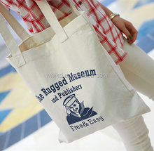 China-made cute blank cheap cotton tote bags for women cotton canvas tote bag promotion