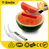 Fruit corer function mandoline slicer stainless steel watermelon slicer