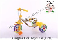 Popular children tricycle kids 3 color CP wheel pedal car for sale/mini Baby Tricycle with leather seat/Cheap Kid Tricycle bike