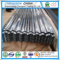 SGCC DX51D SGLCC Hot Dipped Corrugated Galvanized / Galvalume / Zincalume Steel Sheets