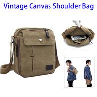 Alibaba Express Multifunctional Travel Satchel Small Canvas Messenger Shoulder Bag for Men