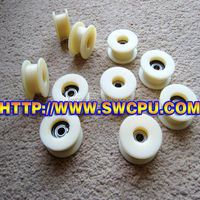 Non metal Small pulleys with bearing various sizes