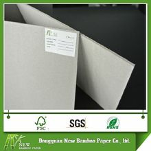 Mill manufacturer 700g 787x1092mm paper laminated grey chip board