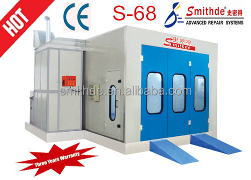 Smithde S-68 china wholesale spray tanning machine/spray booth/painting booth CE approved