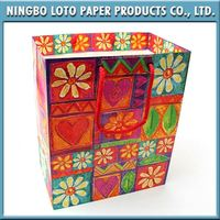 China manufacture lace paper bag