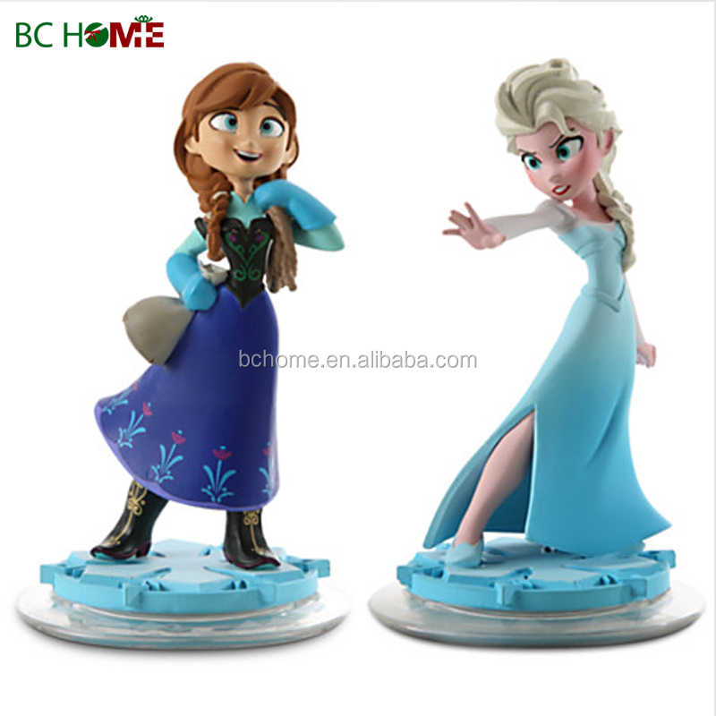 Pvc Elsa And Olaf Figurine Frozen Statues Buy Pvc Frozen