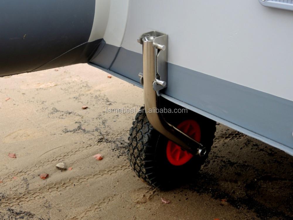 Portable Aluminum Boats : Aluminum boat trailer portable