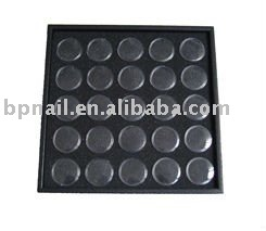 Plastic Nail Beauty Stone Case