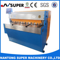 China QH11D-3.2*2000 True-cut Mechanical Shearing Machine Welded Steel Plate Construction