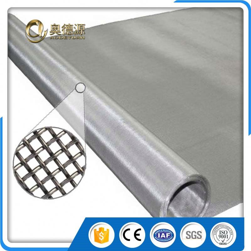 dutch fine flexible metal stainless steel wire mesh fabric