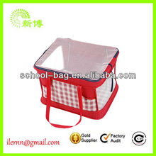Original Four hole chest pet bag,mesh cloth pet products