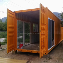 China 40' shipping container prefabricated home house container 20/40 ft home 40 feet container