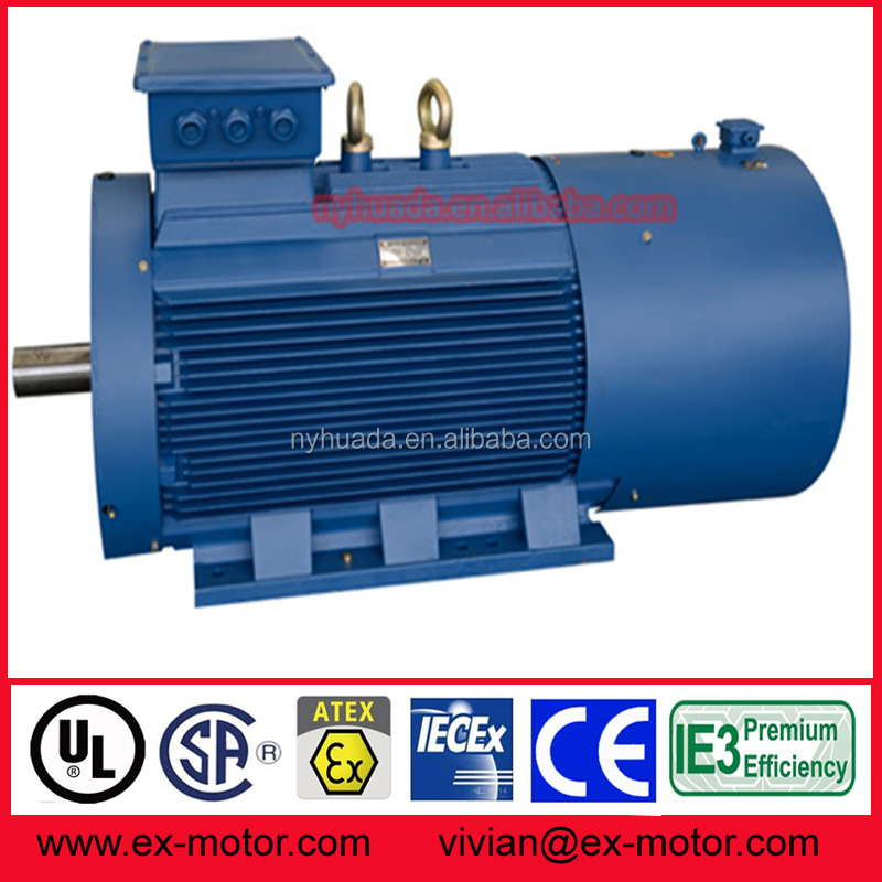 Powerful medium size electric motor 500kw