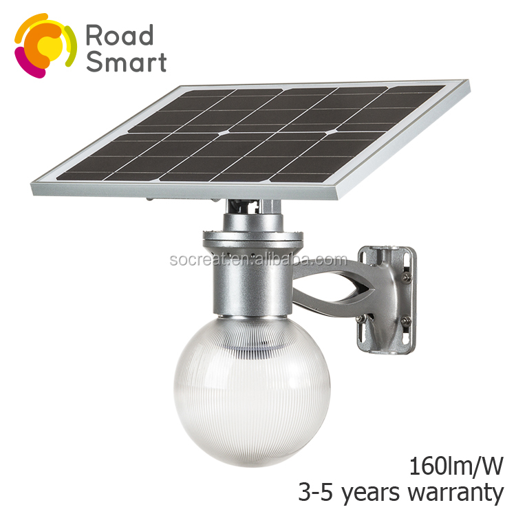 Integrated Solar Street light Led light Garden light with Solar Panel Adjustable 360 degree