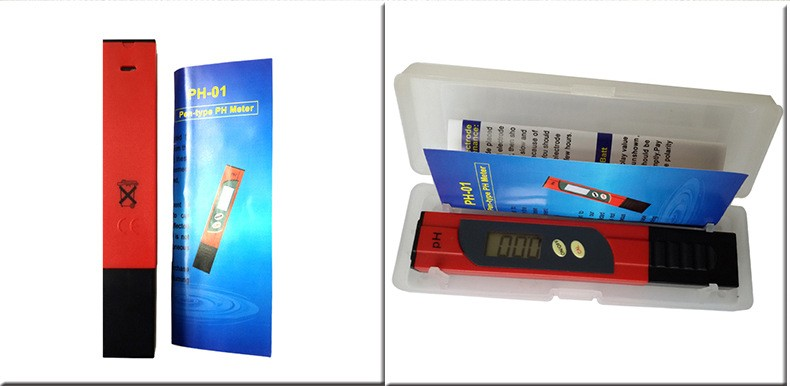High quality pocket size digital liquid ph meter