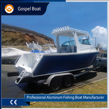 21ft Offshore Fishing Boat Cuddy Cabin Aluminum Dive Boat