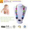 Food Grade Silicone Teething Necklace With