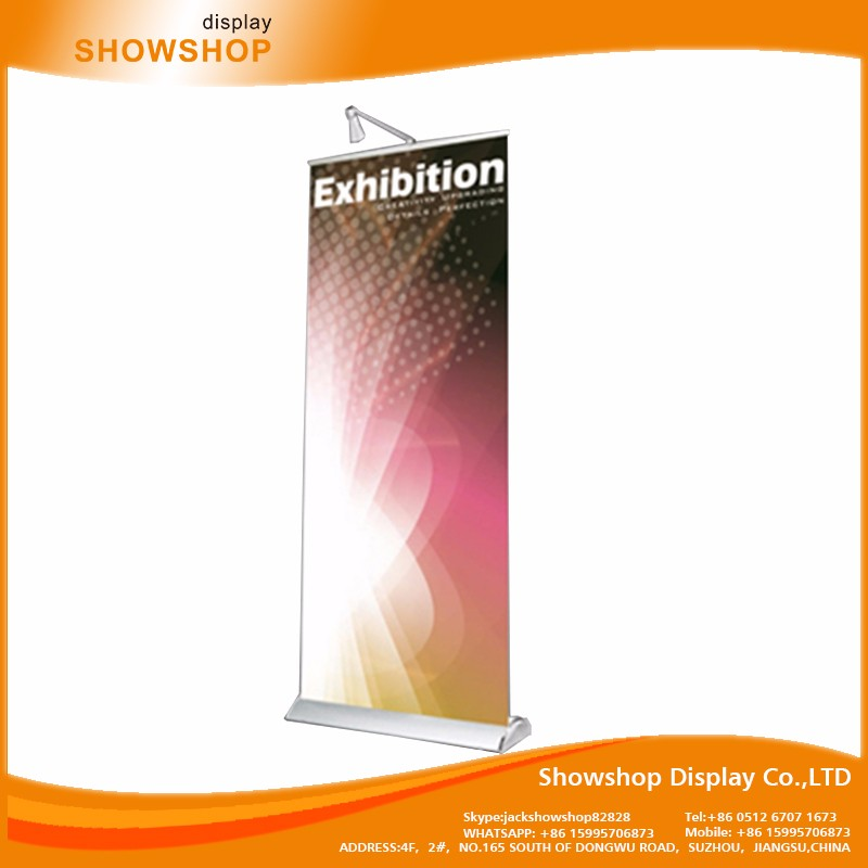 Various Sizes pull roll up display banner