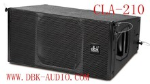 Dual 10 inch two way full range (neodymium) line array speaker CLA-210 from china