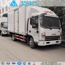 4x2 JAC closed cargo truck chemical hazard specialized vehicle van for sale