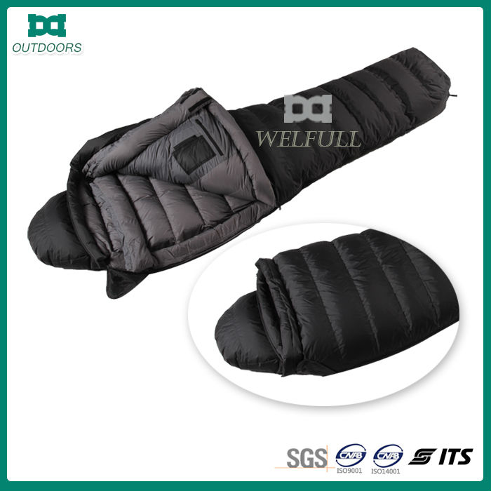High quality duck feathers sleeping bag low price