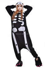Unisex Adult Pajamas - Plush full body Cosplay skeleton Animal Costume