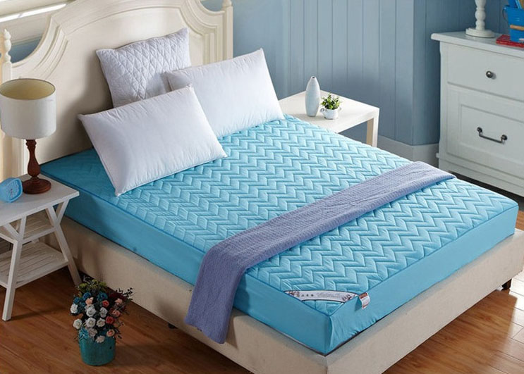 Hot Sale 100% Cotton Jersey Laminated TPU Pvc Mattress Cover