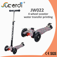 CE folding multi color deck micro kick scooter china