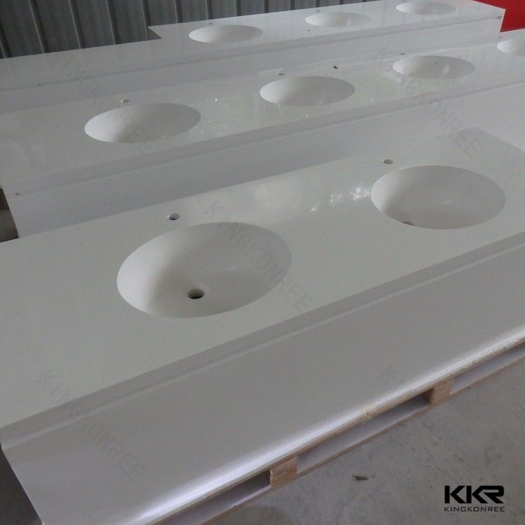 Acrylic solid surface artificial marble kitchen bench top