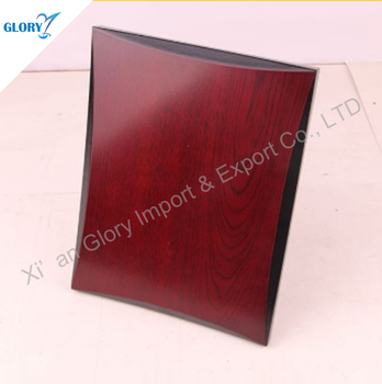 Custom Blank Awards Plain Wooden Plaque for Engraving