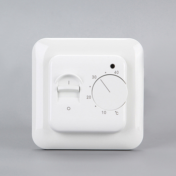 High quality self-extinguishing pc manual switch and knob easy operation room thermostat
