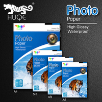 Factory direct high glossy waterproof 115gsm-260gsm A3 A4 3R 4R 5R inkjet photo paper